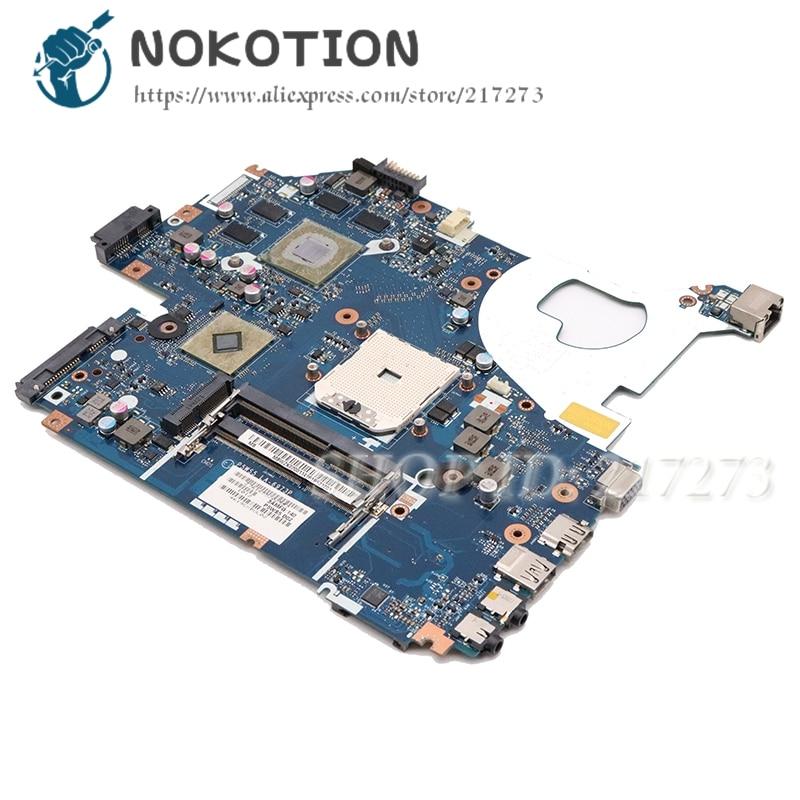 NOKOTION P5WS5 LA-6973P ل بوابة NV55 NV55S اللوحة المحمول MBWZK02001 MB.WZK02.001 HD6700M gpu اختبار كامل