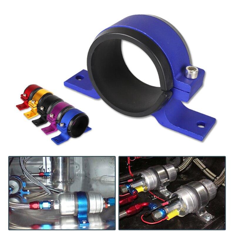 JKdreamer, soporte de bomba de combustible de aluminio de 60MM, soporte del filtro de combustible individual