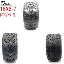 16x8-7 (200/55-7) 카트 자동차 부품 7 인치 atv 타이어 16x8-7 16*8-7 고속도로 타이어 내마 모성 휠 타이어
