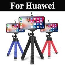 Eponge multifonction pieuvre Smartphone trépied pour Huawei Nova 2 2 Plus 2i 2 s 3i Lite Plus P Smart P8 P9 P10 P20 Lite Pro Plus