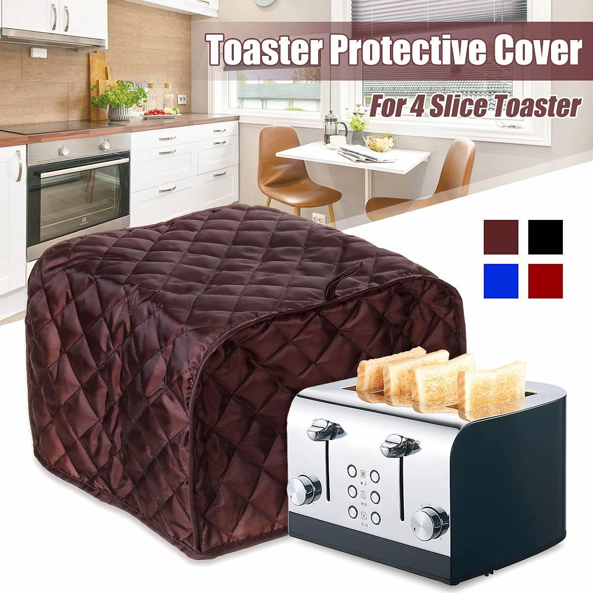 Новый чехол для тостера пылезащитный чехол для хлебопечки машина чехол для тостера с двумя ломтиками антипылезащитный чехол для тостера/отпечатков пальцев