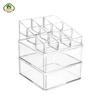 msjo makeup organizer for cosmetics acrylic cotton pads storage boxes cotton swab organizer cotton pads container storage case