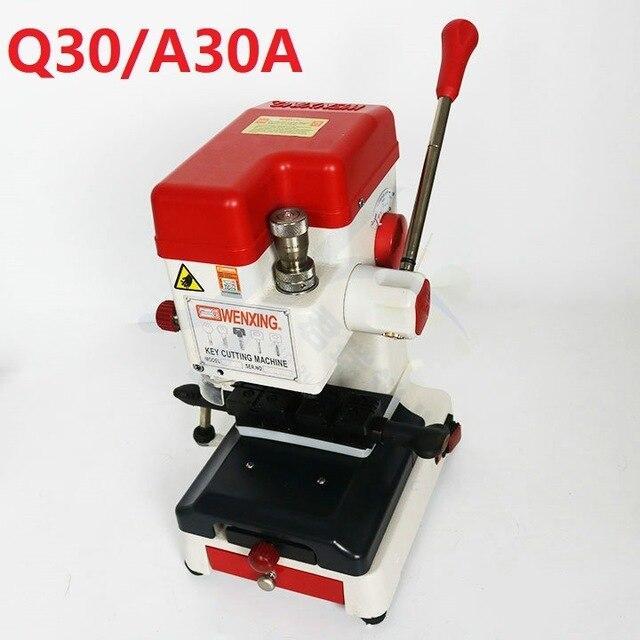 Duplicador automático de llaves de 12V Wenxing Q30 Q30A 120W 220V multifunción para cargador de coche, máquina de corte de llaves de 333L