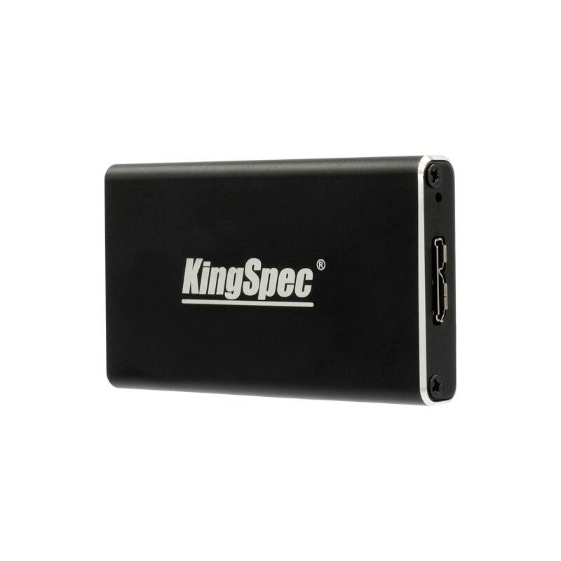 mSATA black mini SSD Enclosure Adapter black Metal Case Hard Drive Disk usb 3.0  portabble for mSATA 60GB 128GB 256GB 512GB 1TB