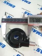 Conjunto de cubierta de polvo de bomba de aceite de alta calidad EMAS para HUSQVARNA 235 235E 236 236E 240 240E piezas de motosierra