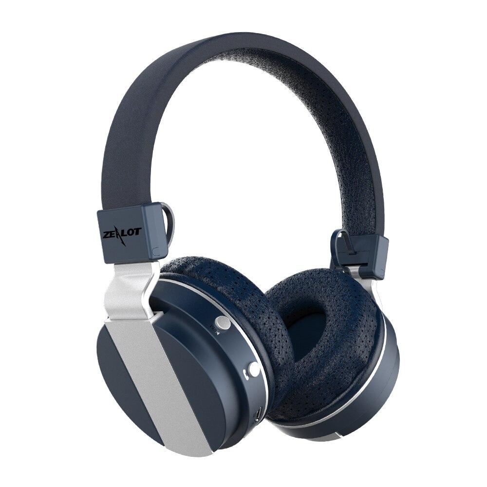 ZEALOT B17 спортивные bluetooth-наушники, шумоподавление, супер бас, беспроводная стерео гарнитура с микрофоном, fm-радио, слот для карты TF