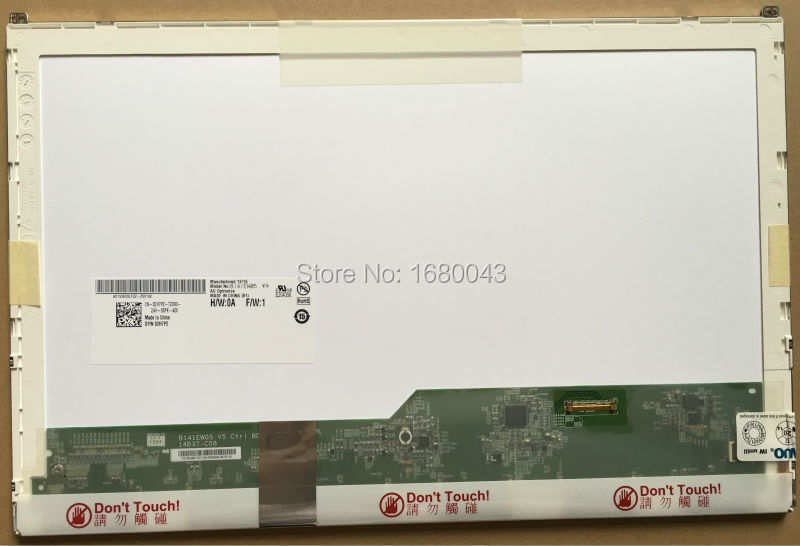 B141EW05 V.5 fit LP141WX5 TPP1 LTN141AT16 N141I6-D11 NEW 14.1