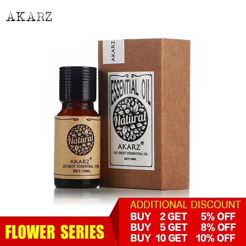 AKARZ-Aceite Esencial aromático para difusores de aromaterapia, aceite aromático para el cuidado...