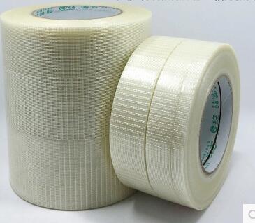 1 piezas 50 M adhesiva de cinta de fibra de vidrio de fuerza de alta viscosa-cinturón ancho 10/15/20 /25/30/35/40/45/50/60/80/100mm juguete módulo