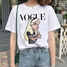 New Graphic Vogue T Shirt Women Fashion Harajuku Ullzang Cartoon T-shirt Funny Printed 90s Tshirt Korean Style Top Tees Female