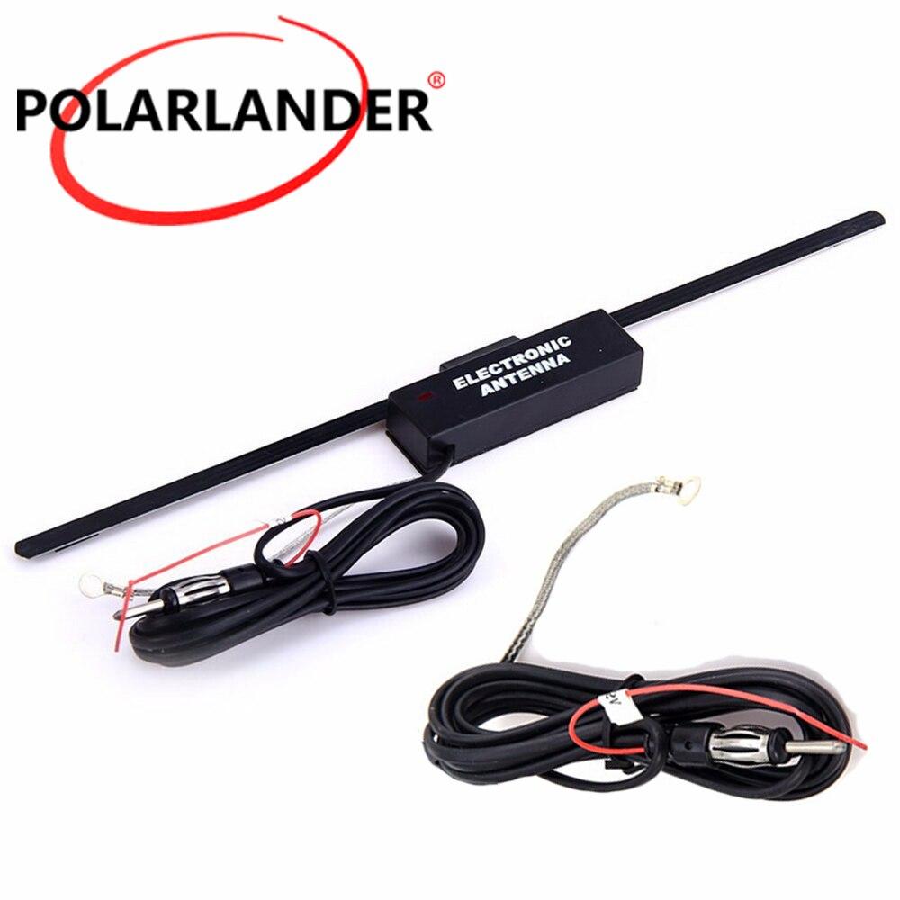 Antena de amplificador Polarlander, Antena de RADIO, amplificador electrónico para parabrisas de...
