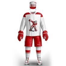 COLDOUTDOOR ice hockey jersey aceitar nome personalizado e número branco