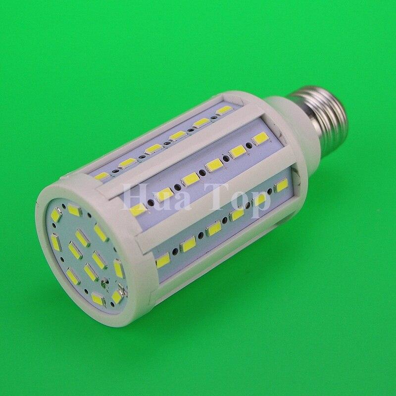 Lampada 5 unids/lote E27 B22 E14 5730 5630SMD Cree Chip LED luces LED 15 W AC 110 V o 220 V lámpara de bombilla de maíz blanco cálido frío envío gratis