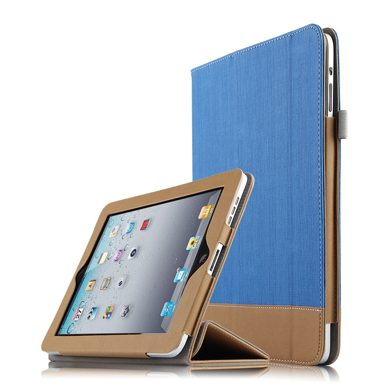 Funda protectora para iPad 1 One First Generation, Funda inteligente de piel sintética, Funda protectora para iPad 1 A1337 A1219, sin cámara