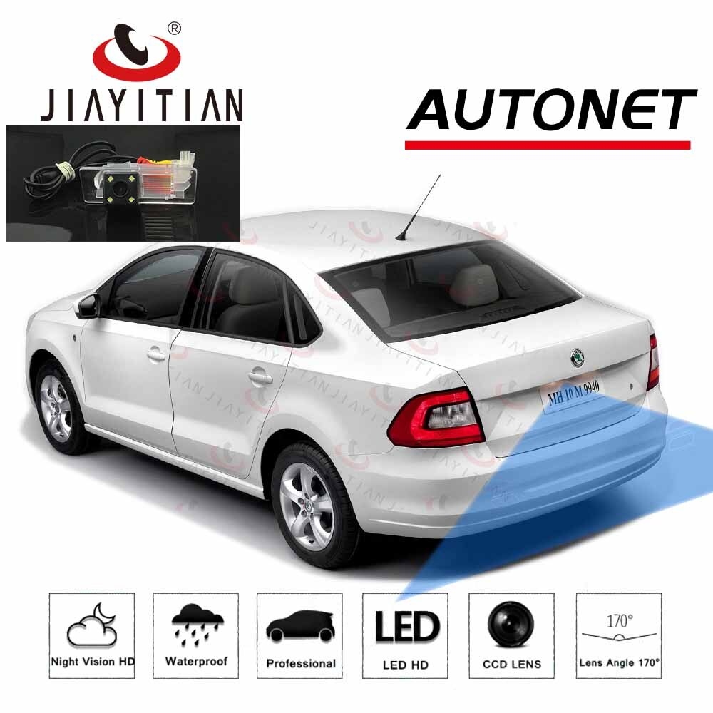 for for toyota prius 2012 2013 2014 smart tracks chip camera hd ccd intelligent dynamic parking car rear view camera JIAYITIAN rear view camera For Skoda Rapid 2012 2013 2014 2015 2016 2017 2018 CCD parking Backup Camera/License Plate camera