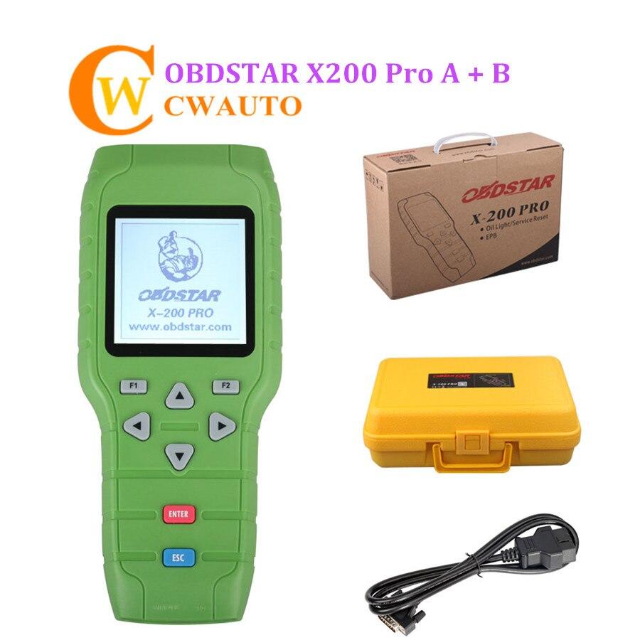 OBDSTAR X-200 X200 Pro A + B, configuración Original para reinicio de aceite, Software OBD, EPB