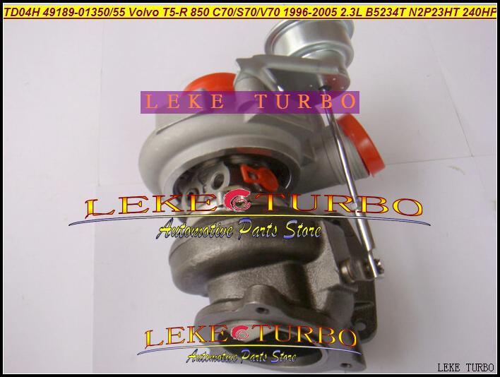 Envío Gratis turbocompresor TD04HL-16T 49189-01350, 49189-01355 Turbo para VOLVO T5-R 850 C70 S70 V70 1996-05 B5234T N2P23HT 2.3L 240HP