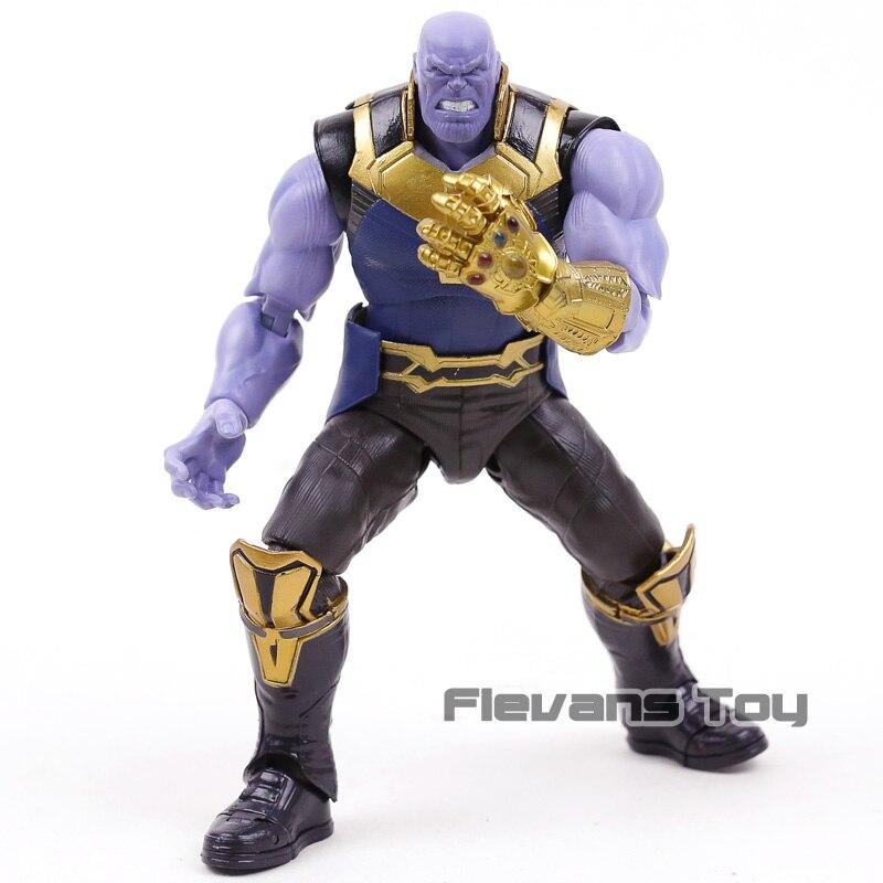 Экшн-фигурка героев из ПВХ Marvel Avengers 3 Infinity War Thanos