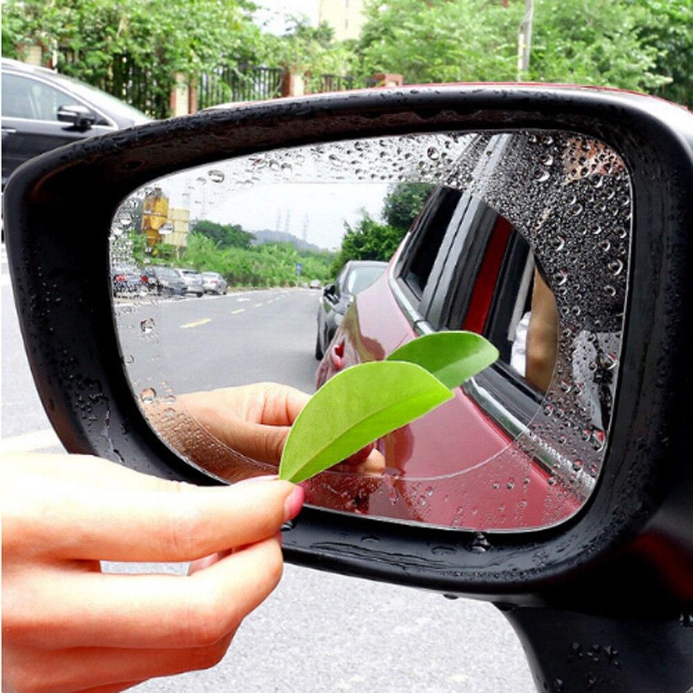 1 par de película protectora para espejo retrovisor a prueba de lluvia para coche Skoda Octavia A2 A5 A7 Fabia Rapid superb Yeti Roomster