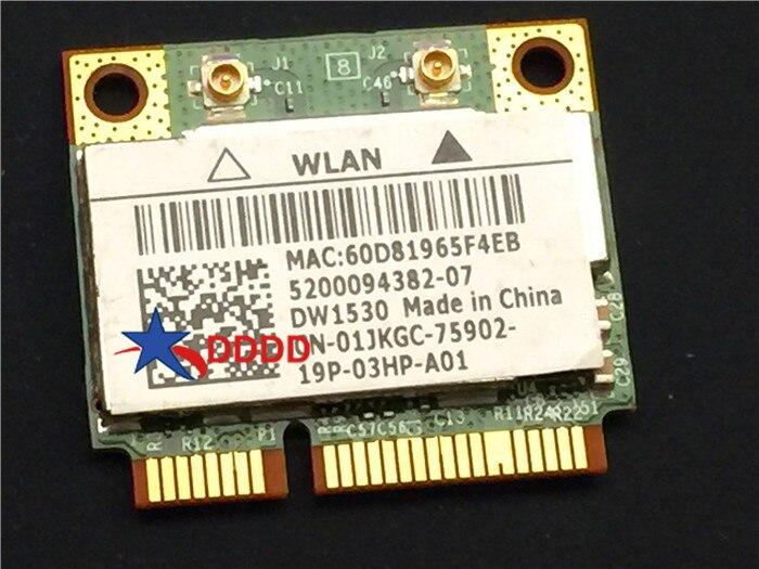 Original para Dell Latitude E5420 portátil tarjeta WiFi inalámbrica 01JKGC 1jkgc DW1530 totalmente probada