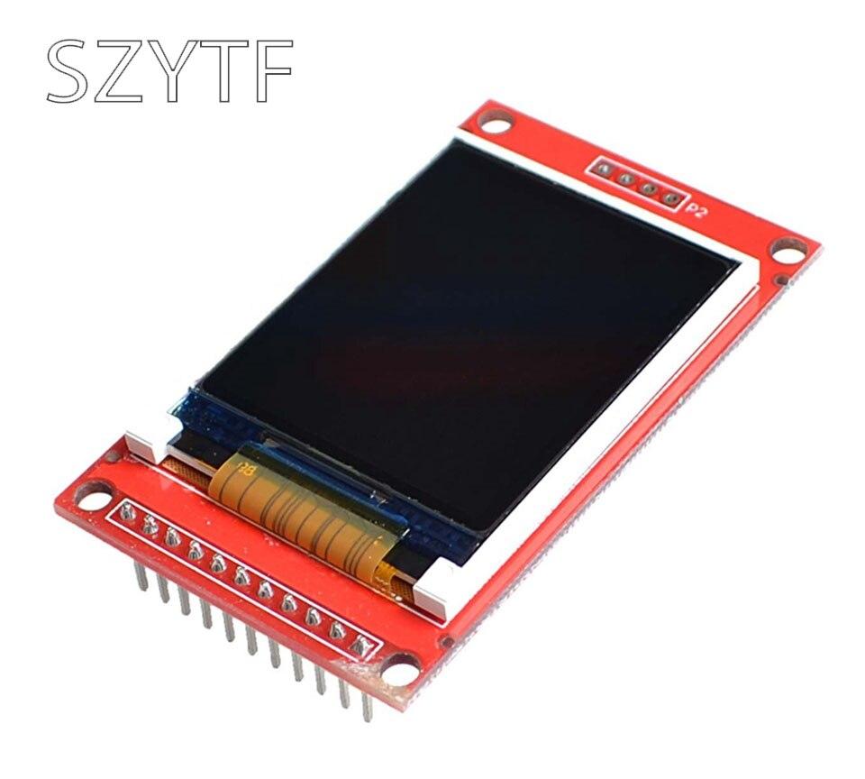 1,8 pulgadas TFT LCD Módulo de pantalla a color de puerto serial SPI sólo 4 IO