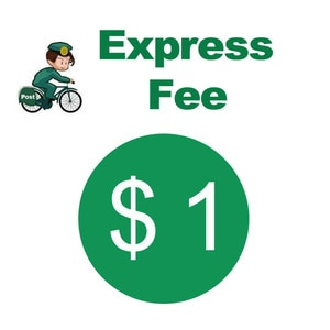 $1 Extra Fee/cost just for the balance of your order/shipping cost