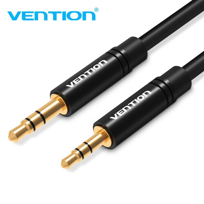 Vention aux cabo de áudio 2.5mm a 3.5mm macho para macho jack estéreo cabo de áudio para smartphone alto-falante fone de ouvido mp3 player 3.5mm aux