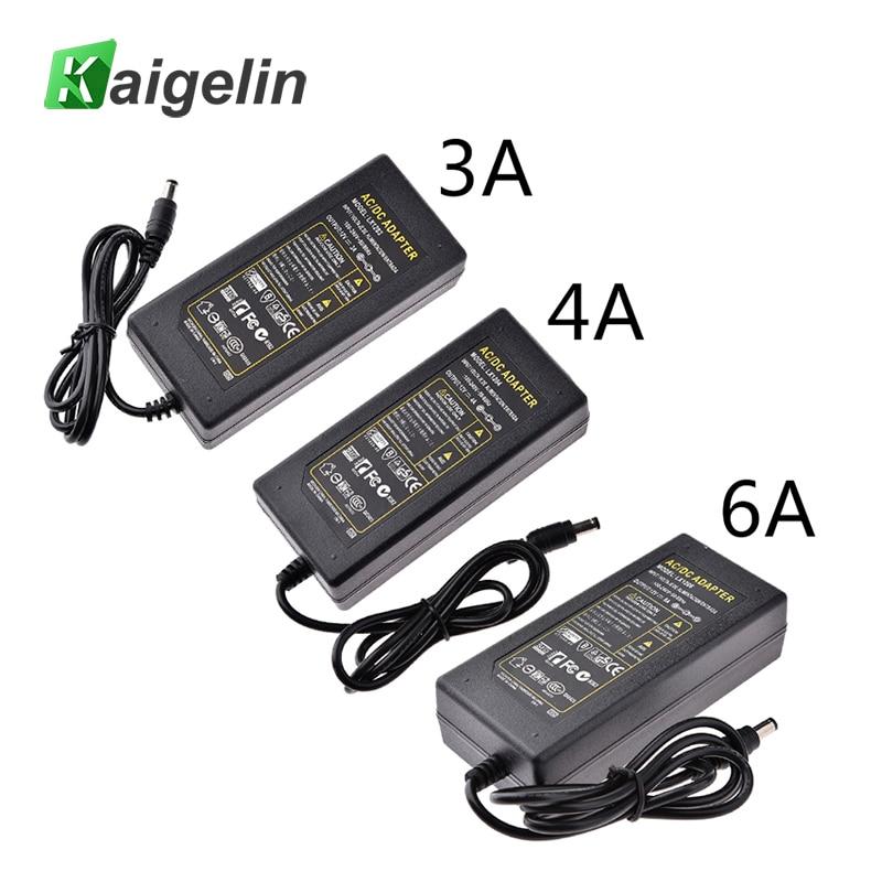 interruptor de led 100v 240v ac para dc 12v 3a 4a 6a 60w carregador de iluminacao