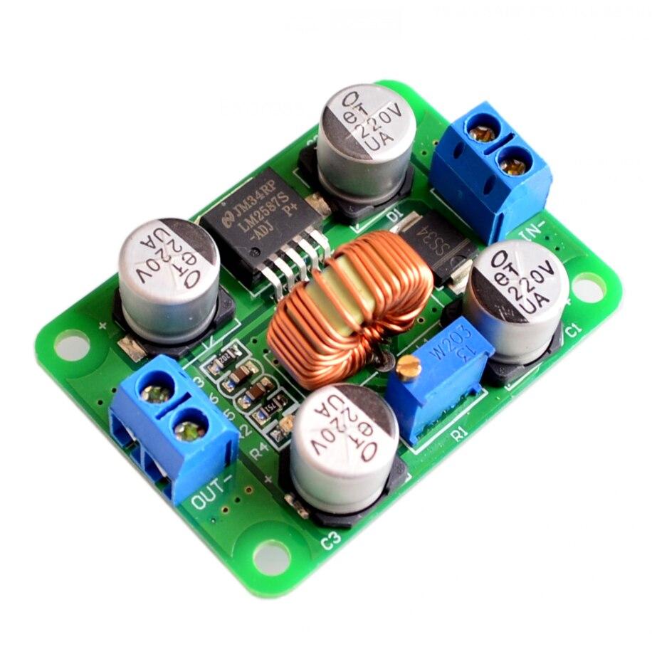 【SIMPLE ROBOT】! LM2587 DC-DC power module boost modul über lm2577 (Peak 5A) DC Step-Up Converter Modul