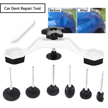 8pcs Hand Tools Universal Car Dent Repair Tool Removal Repair Kits Car Door Body Vehicle Auto Glue Stick Pulling Bridge Device