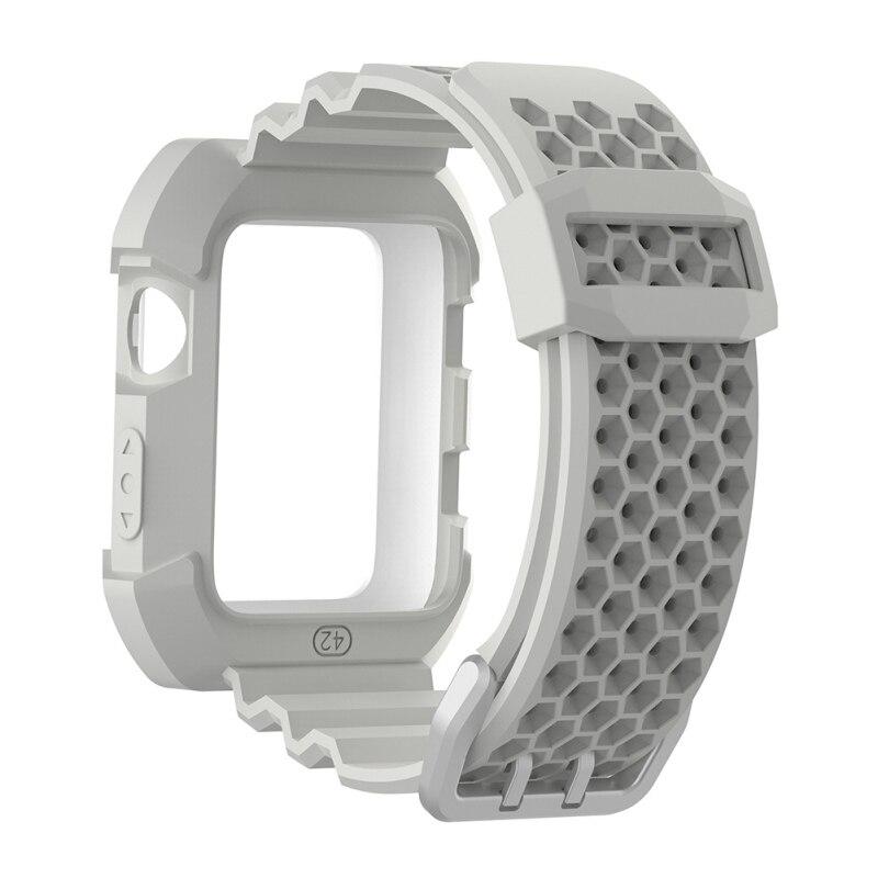 Correa de silicona de 42mm y 38mm para Apple Watch, correa de reloj de pulsera deportivo, pulsera de reloj, correas de reloj para iwatch 3/2/1