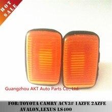 2pcs Fender Light for Toyota Camry ACV3# 1AZFE 2AZFE AVALON,LEXUS LS400 OEM81731-50090 Car Auto Parts Side turn signal housing