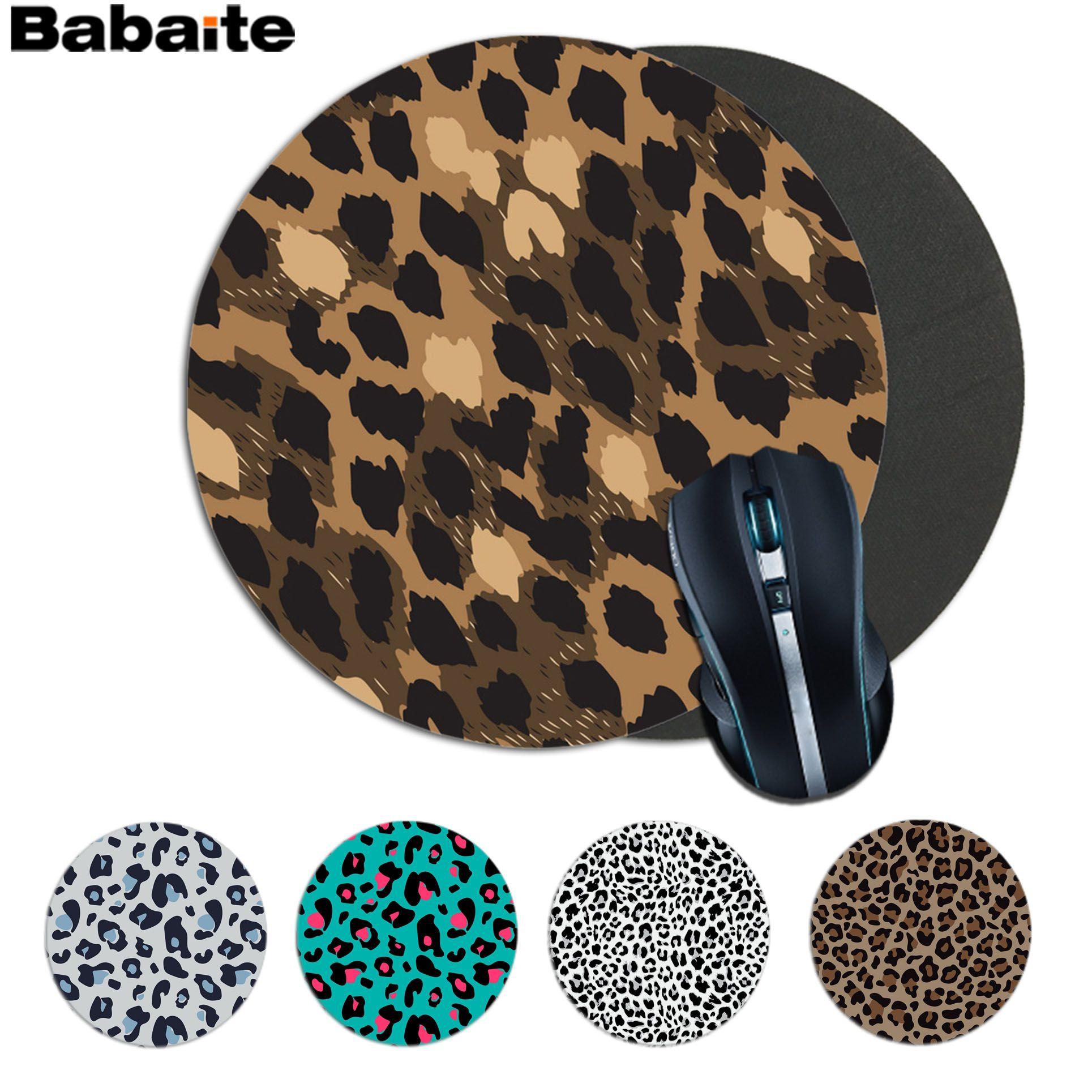 Babaite, alfombrilla ratón de leopardo de nuevo diseño, alfombrilla ratón para juegos de alfombrillas de ratón gaming para ordenador portátil
