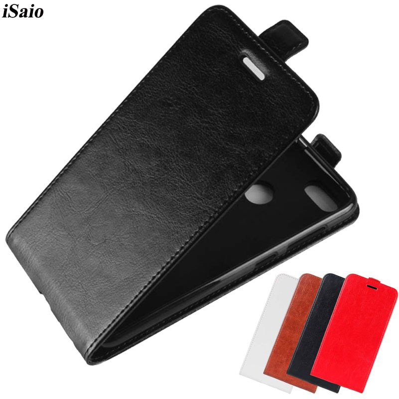 Funda de cuero con tapa para Huawei P9 Lite Mini, carcasa de...
