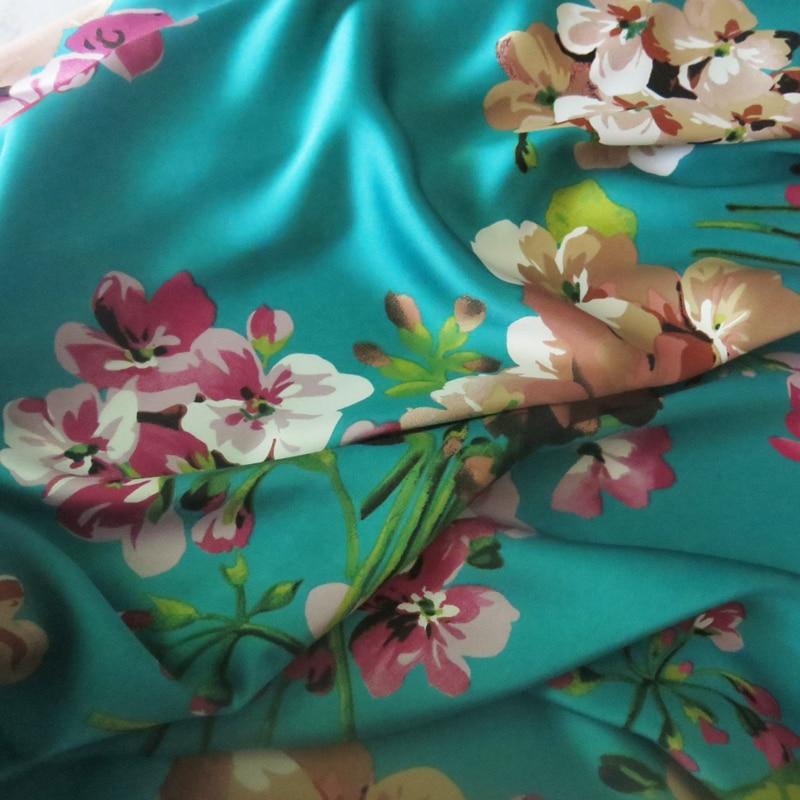 100*150cm,Soft Bridal Dress Material Crepe Satin Charmeuse Fabric Aquamarine Pink Burgundy