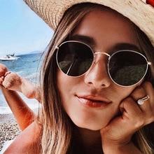 Small Round Women Sunglasses Men 2019 Aviation Eye Sun Glasses Metal Frame Sun Shades for Women Top