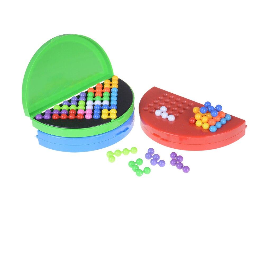 Clássico quebra-cabeça pirâmide placa iq pérola lógica mente jogo para crianças contas pirâmide quebra-cabeça cérebro teaser brinquedos educativos