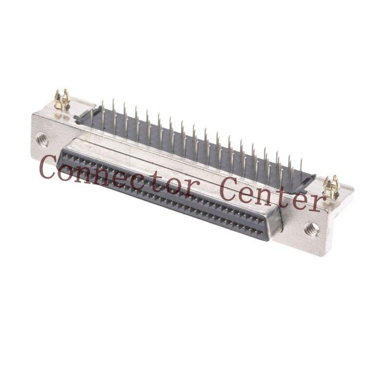 68Pin SCSI Conector Para TE HDB 1.27 Pitch Ângulo Direito Feminino Originais 787082-7