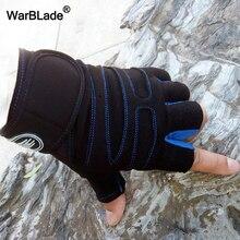 WBL-gants de gymnastique pour hommes   Gants de sport pour protection de la forme physique, demi-doigt, respirants, pour exercices de musculation, levage du poids