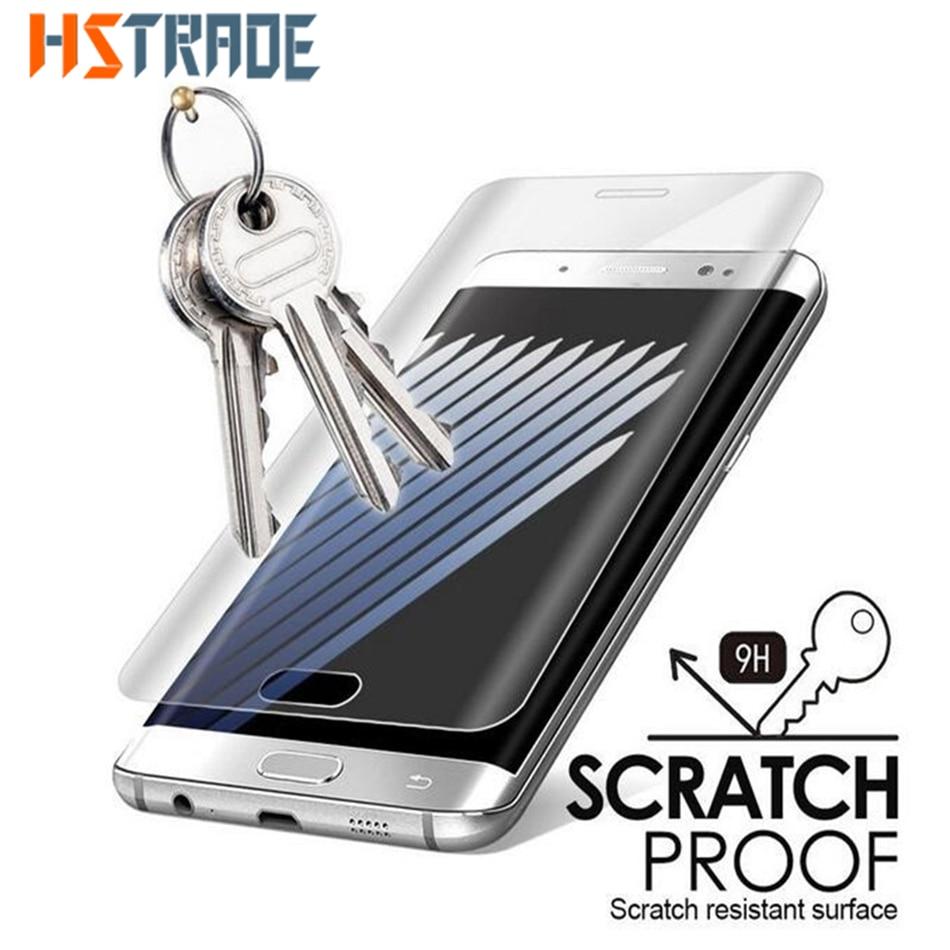 Szkło hartowane 3D do Samsung Galaxy S7 edge ochraniacz ekranu do Galaxy S7 do Galaxy S6 Edge przezroczysta folia szklana