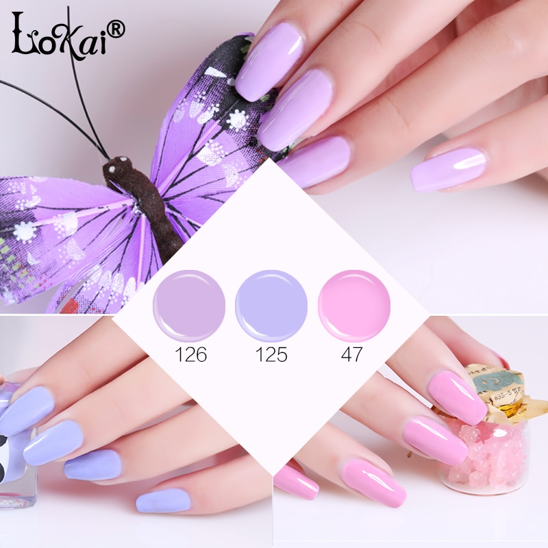 UV Malerei Gel Rosa Lila Serie 6 ml Jar Reine Farbe Nail art Design Salon Empfehlen Tränken UV LED Nagel gel Farbe Farben Lack