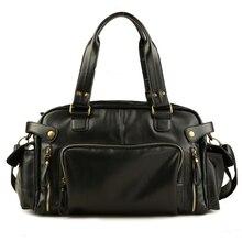 Vintage voyage sac Hommes sac à main bagages duffle sac valise de voyage week-end Épaule sac à bandoulière en cuir Hommes sacs bolsa viagem