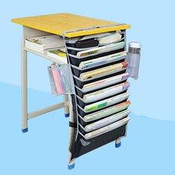 Ткань Оксфорд настольная книга держатель брошюры висячая школа студент хранения стол диван стул органайзер для украшения расширение