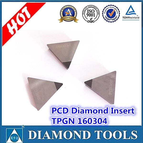 Inserto PCD TPGN 160304-DC PCD insertar 1 punta