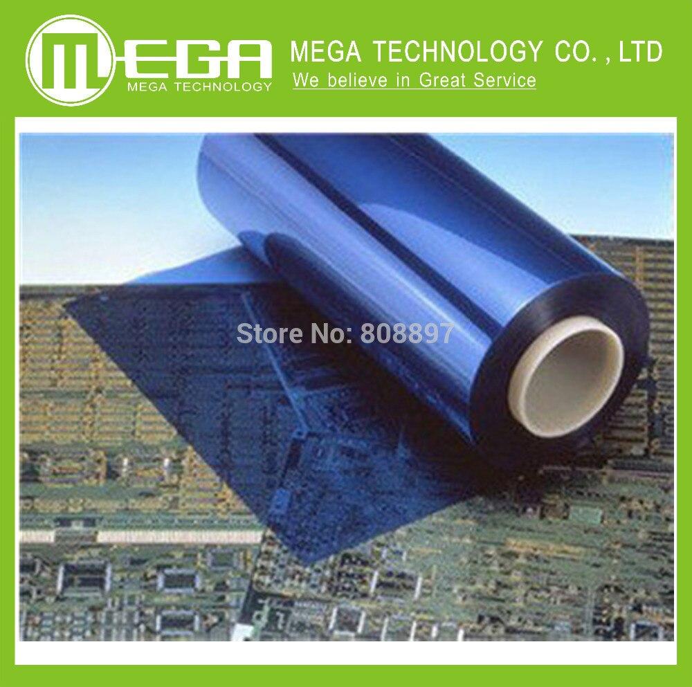 Película seca fotosensible de 5 metros 30cm en lugar de producción de transferencia térmica placa PCB película fotosensible longth