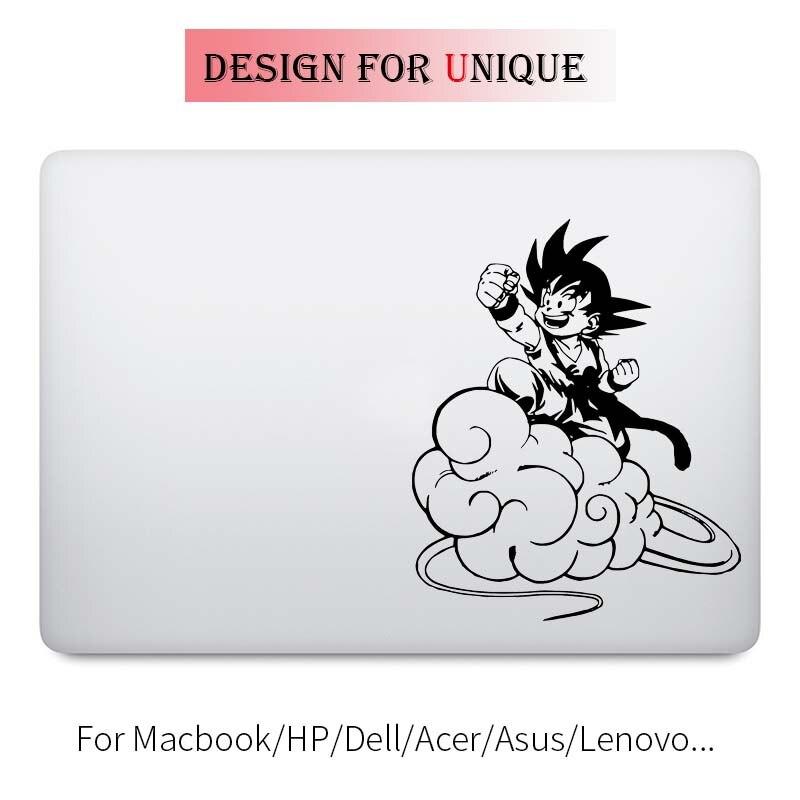 Song Goku Dragon Ball Anime Laptop Decal for Apple Macbook Sticker Pro Air Retina 11 12 13 15 inch Vinyl Mac Surface Book Skin