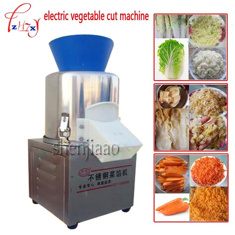 ماكينة تقطيع الخضروات الكهربائية التجارية 20-type 180w فطائر الخضروات ماكينة تعبئة ماكينة تقطيع 220 فولت