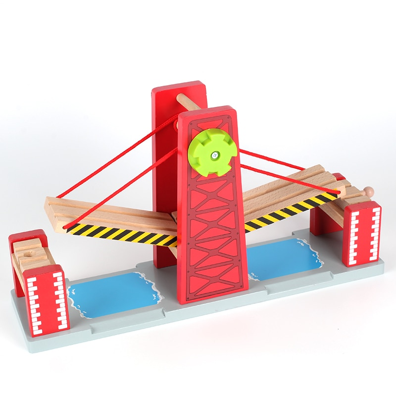 Train Toys Railway Track TTC47 Y-BRIDGE Fit for  Truck  Car Brio Toys for Boys Engine Models Building Toy