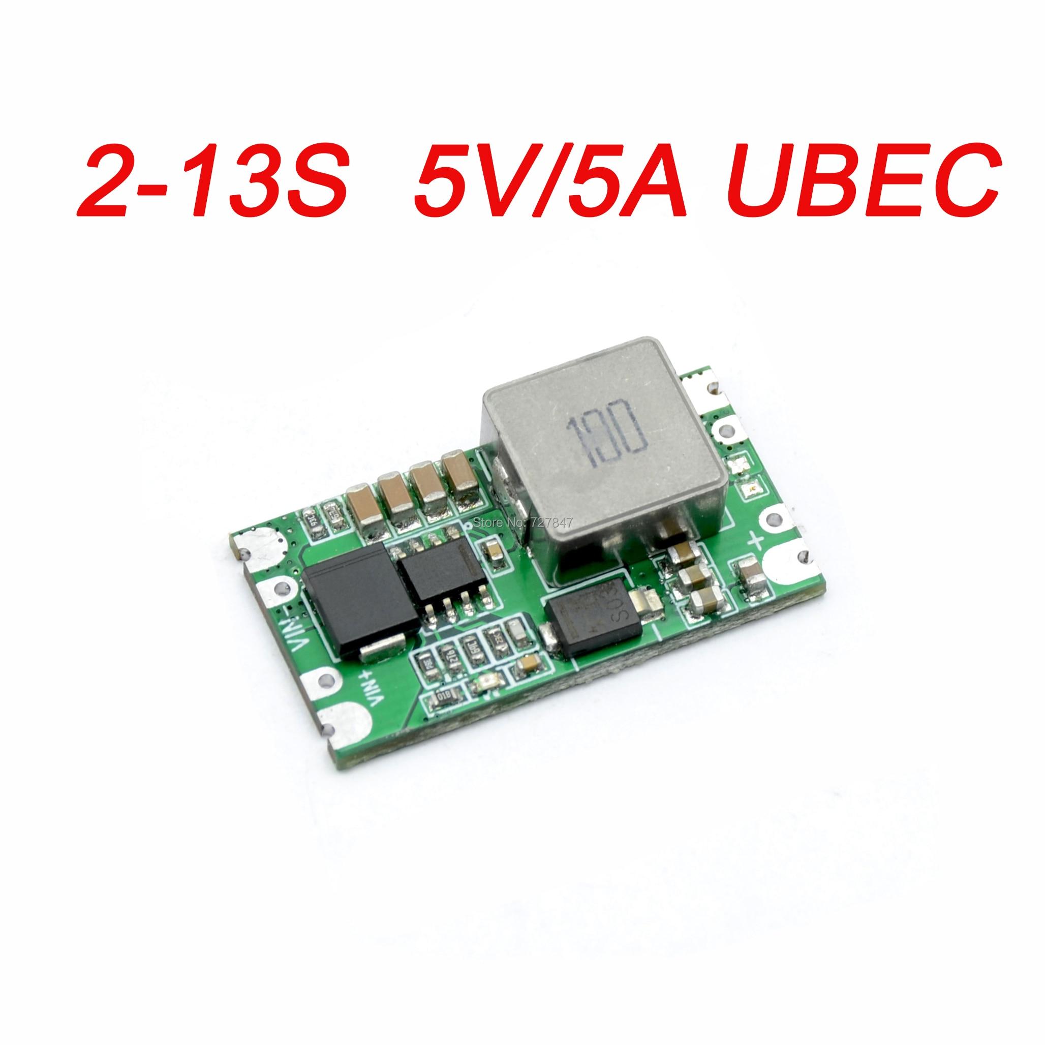 FPV Micro 5 V/5A 2-13S BEC UBEC Mini BEC 5V 5A para RC Quadcopter Drone
