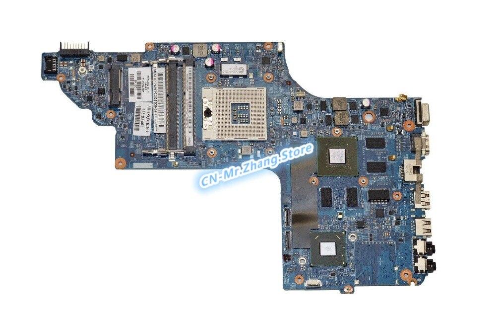 SHELI PARA HP Pavilion DV6-7300 Laptop Motherboard 711508-601 11254-3 48.4ST10.031 GT635M GPU 2 GB RAM DDR3